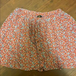 Floral Skirt WITH POCKETS!!!!